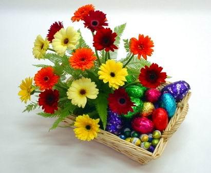 Ankara Anadolu çiçek online çiçek siparişi  sepette gerbera çiçekleri