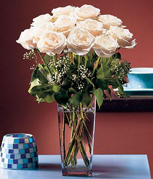 Ankara Anadolu hediye sevgilime hediye çiçek  Cam yada mika vazo içerisinde 12 gül