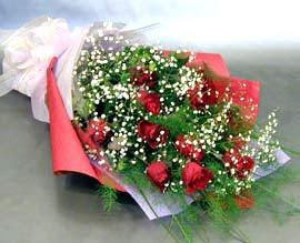 10 adet kirmizi gül çiçegi gönder  Ankara Anadolu anneler günü çiçek yolla