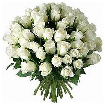 Ankara Anadolu çiçek servisi , çiçekçi adresleri  33 adet beyaz gül buketi