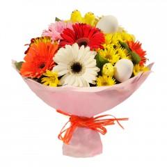 Karışık mevsim buketi Mevsimsel çiçek  Ankara Anadolu internetten çiçek siparişi