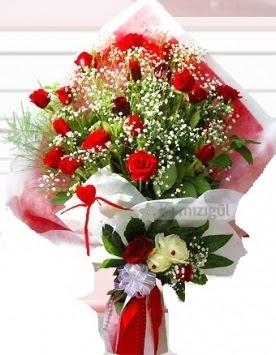 Kız isteme buketi çiçeği 41 güllü  Ankara Anadolu Anadolu İnternetten çiçek siparişi