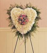 Ankara Anadolu çiçek siparişi sitesi  kalp pano beyaz karanfillerden