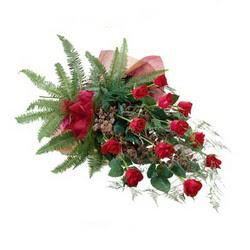 Ankara Anadolu online çiçek gönderme sipariş  10 adet kirmizi gül özel buket çiçek siparisi