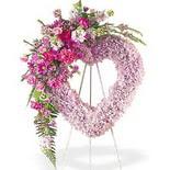 kalp içerisinde mevsim çiçekleri   Ankara Anadolu çiçek siparişi vermek
