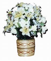 yapay karisik çiçek sepeti   Ankara Anadolu çiçek mağazası , çiçekçi adresleri