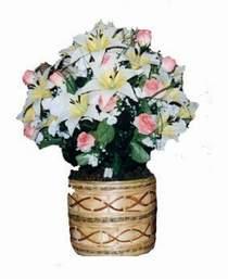 yapay karisik çiçek sepeti   Ankara Anadolu çiçek servisi , çiçekçi adresleri