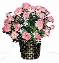 yapay karisik çiçek sepeti  Ankara Anadolu çiçek online çiçek siparişi