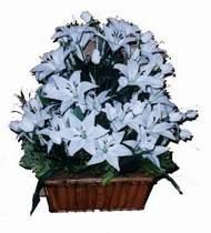 yapay karisik çiçek sepeti   Ankara Anadolu online çiçek gönderme sipariş