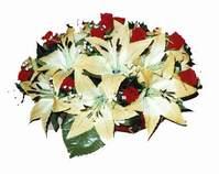 yapay karisik çiçek sepeti   Ankara Anadolu internetten çiçek siparişi