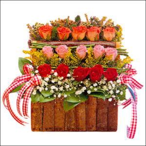 sandikta 3 kat güllerden   Ankara Anadolu cicekciler , cicek siparisi