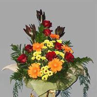 karisik güllerden buketlik   Ankara Anadolu çiçek gönderme