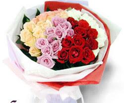 SEVENLERE ÖZEL 51 ADET GÜL  Ankara Anadolu internetten çiçek satışı