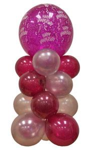 Sevdiklerinize 17 adet uçan balon demeti yollayin   Ankara Anadolu çiçekçi telefonları