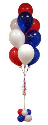 Sevdiklerinize 17 adet uçan balon demeti yollayin.    Ankara Anadolu çiçek , çiçekçi , çiçekçilik
