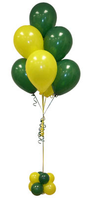 Sevdiklerinize 17 adet uçan balon demeti yollayin.   Ankara Anadolu ucuz çiçek gönder