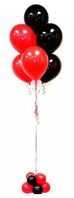 Sevdiklerinize 17 adet uçan balon demeti yollayin.   Ankara Anadolu hediye çiçek yolla