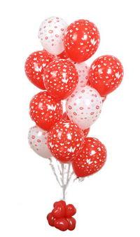 Sevdiklerinize 17 adet uçan balon demeti yollayin.  Ankara Anadolu internetten çiçek satışı
