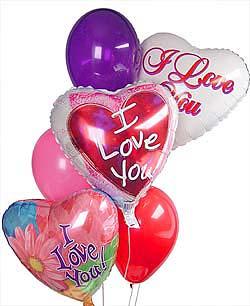 Ankara Anadolu internetten çiçek satışı  Sevdiklerinize 17 adet uçan balon demeti yollayin.