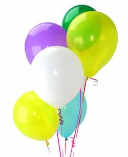 Ankara Anadolu Anadolu İnternetten çiçek siparişi  Sevdiklerinize 17 adet uçan balon demeti yollayin.