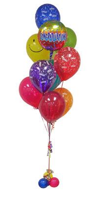 Ankara Anadolu çiçek gönderme sitemiz güvenlidir  Sevdiklerinize 17 adet uçan balon demeti yollayin.