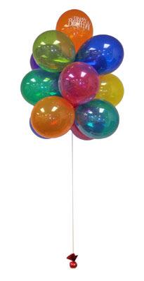 Ankara Anadolu çiçek gönderme  Sevdiklerinize 17 adet uçan balon demeti yollayin.