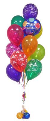 Ankara Anadolu çiçek satışı  Sevdiklerinize 17 adet uçan balon demeti yollayin.
