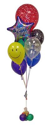 Ankara Anadolu çiçek , çiçekçi , çiçekçilik  Sevdiklerinize 17 adet uçan balon demeti yollayin.
