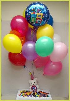 Ankara Anadolu çiçekçi mağazası  Sevdiklerinize 17 adet uçan balon demeti yollayin.