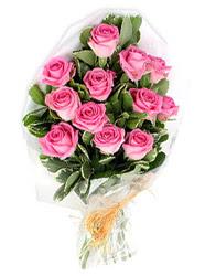 Ankara Anadolu yurtiçi ve yurtdışı çiçek siparişi  12 li pembe gül buketi.