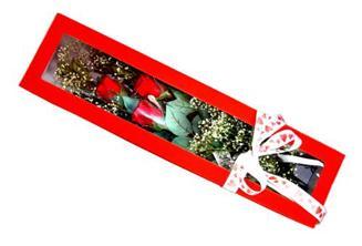 Ankara Anadolu hediye çiçek yolla  Kutuda 3 adet gül