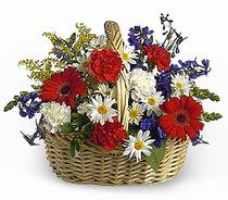 Ankara Anadolu çiçek servisi , çiçekçi adresleri  Karisik mevsim çiçek sepeti