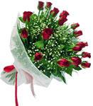 Ankara Anadolu internetten çiçek satışı  11 adet kirmizi gül buketi sade ve hos sevenler