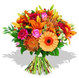 Ankara Anadolu çiçekçi telefonları  Karisik kir çiçeklerinden görsel demet