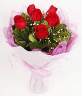 9 adet kaliteli görsel kirmizi gül  Ankara Anadolu çiçek gönderme