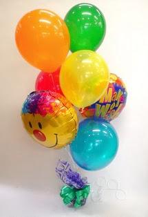 Ankara Anadolu Anadolu İnternetten çiçek siparişi  17 adet uçan balon ve küçük kutuda çikolata