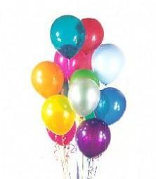 Ankara Anadolu çiçek satışı  19 adet karisik renkte balonlar