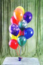 Ankara Anadolu cicek , cicekci  19 adet uçan balon demeti balonlar