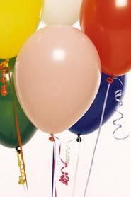Ankara Anadolu hediye çiçek yolla  19 adet renklis latex uçan balon buketi
