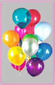 Ankara Anadolu online çiçek gönderme sipariş  15 adet karisik renkte balonlar uçan balon