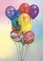 Ankara Anadolu çiçek online çiçek siparişi  19 adet karisik renkte uçan balon buketi