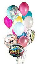 Ankara Anadolu online çiçek gönderme sipariş  görsel kaliteli 17 uçan balon buketi tanzimleri