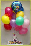 Ankara Anadolu anneler günü çiçek yolla  25 adet uçan balon ve 1 kutu çikolata hediye