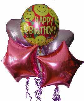Ankara Anadolu kaliteli taze ve ucuz çiçekler  11 adet renkli uçan balon hediye ürünü