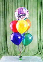Ankara Anadolu çiçek yolla , çiçek gönder , çiçekçi   18 adet renkli uçan balon hediye ürünü balon