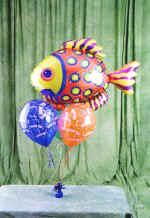 Ankara Anadolu online çiçek gönderme sipariş  9 adet uçan balon renkli oyuncak balonlar