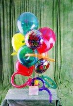 Ankara Anadolu güvenli kaliteli hızlı çiçek  karisik görüntüde renkli uçan balon buketi