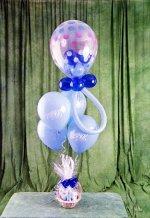 Ankara Anadolu online çiçek gönderme sipariş  15 adet uçan balon ve küçük kutuda çikolata
