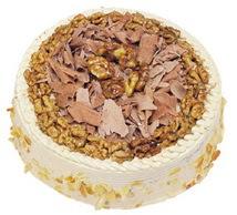 Karamelli 4 ile 6 kisilik yas pasta  Ankara Anadolu çiçek yolla