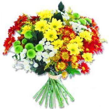 Kir çiçeklerinden buket modeli  Ankara Anadolu online çiçek gönderme sipariş